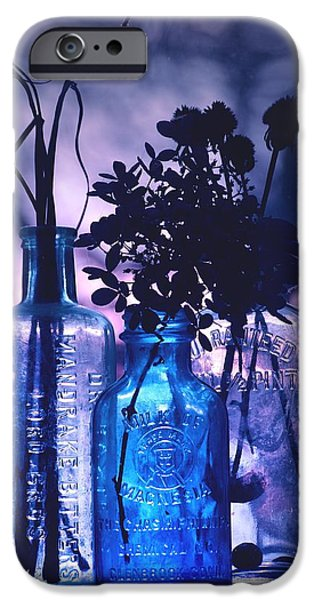Pint Milk Bottle. iPhone Cases - Rhapsody in... iPhone Case by Arthur Miller