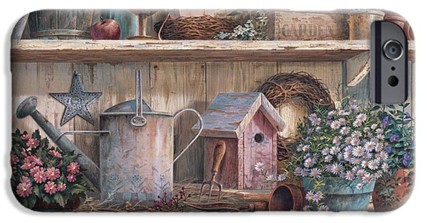 Birdhouse iPhone Cases - Rhapsody in Rose iPhone Case by Michael Humphries