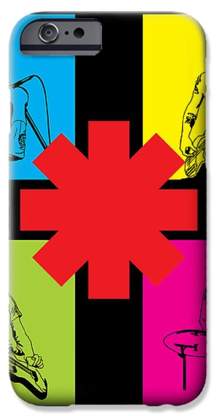 RHCP No.01 iPhone Case by Caio Caldas