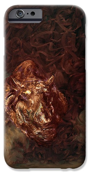Rhino Charger Heaven iPhone Case by Sarah Soward