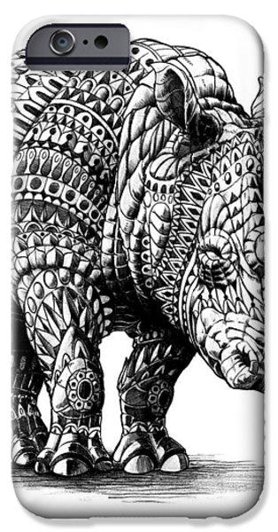 Rhinoceros iPhone Case by BioWorkZ