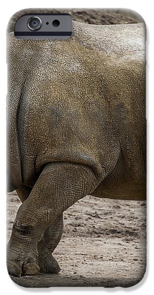Rhinoceros iPhone Case by Svetlana Sewell