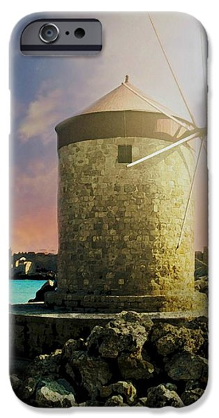 Rhodes iPhone Cases - Rhodes iPhone Case by Diana Angstadt