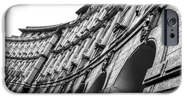 Ruin Sculptures iPhone Cases - Rhythm in Architecture iPhone Case by Utkarsh Jumle