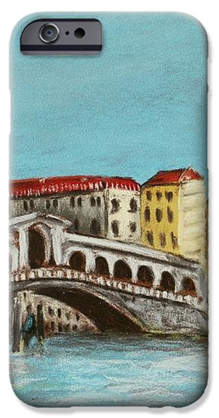 Rialto Bridge iPhone Case by Anastasiya Malakhova