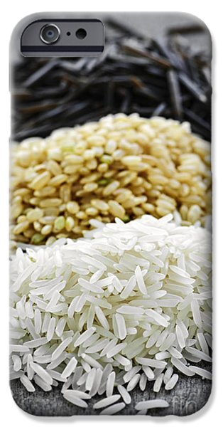 Trio iPhone Cases - Rice iPhone Case by Elena Elisseeva