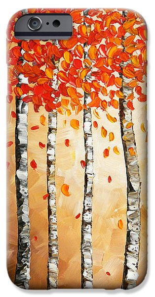 Rich Trees iPhone Case by Denisa Laura Doltu
