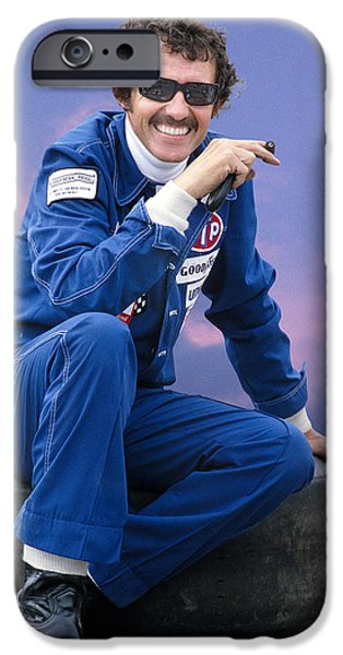 Stp iPhone Cases - Richard Petty iPhone Case by Earl Carter