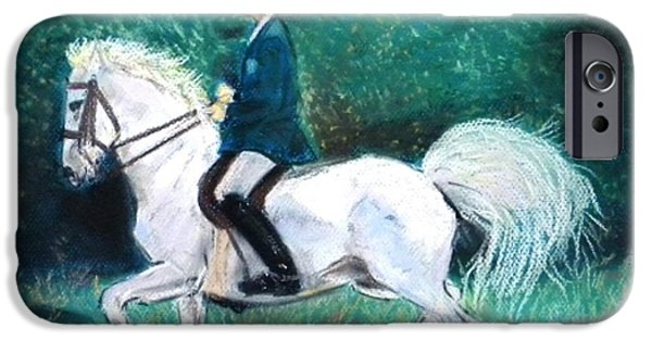 Buy Pastels iPhone Cases - Rider iPhone Case by Igor Kotnik