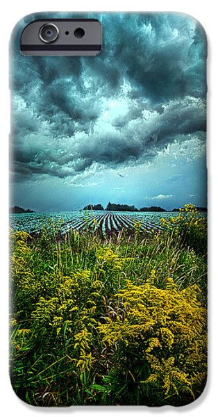 Storm iPhone Cases - Riders On The Storm iPhone Case by Phil Koch