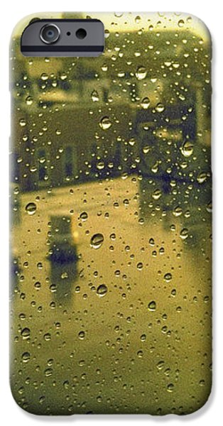 Ridgewood iPhone Cases - Ridgewood wet with rain St Matthias Roman Catholic Church iPhone Case by Mieczyslaw Rudek Mietko