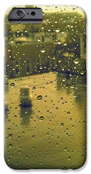Ridgewood wet with rain St Matthias Roman Catholic Church iPhone Case by Mieczyslaw Rudek Mietko