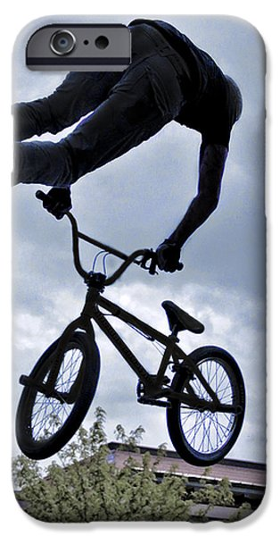 Ft Collins iPhone Cases - Riding High iPhone Case by David Kehrli