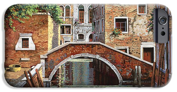 Venice iPhone Cases - Riflessi Di Venezia iPhone Case by Guido Borelli