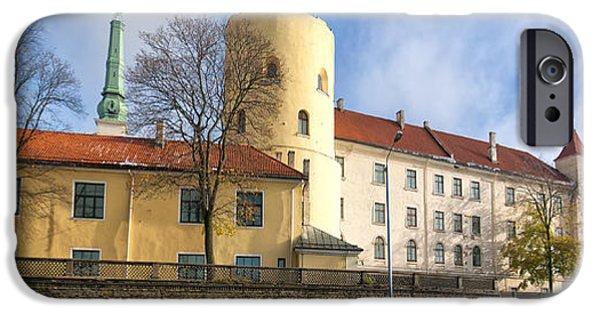 President iPhone Cases - Riga Castle 01 iPhone Case by Antony McAulay