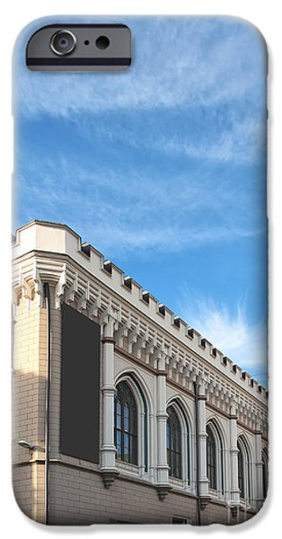 Guild iPhone Cases - Riga Guild Hall 01 iPhone Case by Antony McAulay