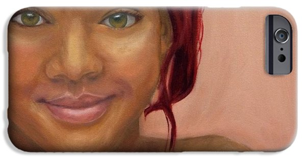 Rihanna Paintings iPhone Cases - Rihanna iPhone Case by Guy Elhanani