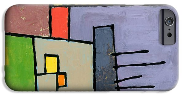 Abstract Expressionist iPhone Cases - Rijsttafel iPhone Case by Douglas Simonson
