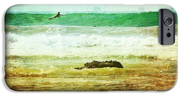Rincon Beach iPhone Cases - Rincon 1 iPhone Case by Beth Taylor