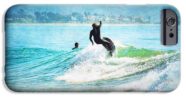 Rincon Beach iPhone Cases - Rincon 2 iPhone Case by Beth Taylor
