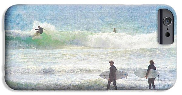 Rincon Beach iPhone Cases - Rincon 4 iPhone Case by Beth Taylor