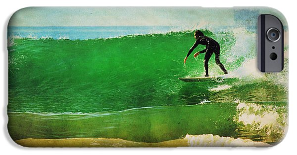 Rincon Beach iPhone Cases - Rincon 5 iPhone Case by Beth Taylor