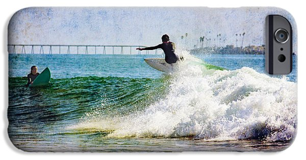 Rincon Beach iPhone Cases - Rincon 6 iPhone Case by Beth Taylor