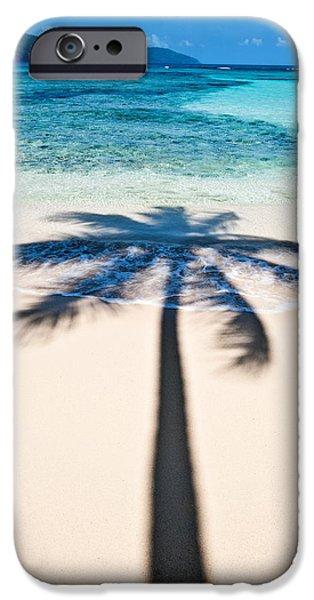Rincon Beach iPhone Cases - Rincon Shadow iPhone Case by Renee Sullivan