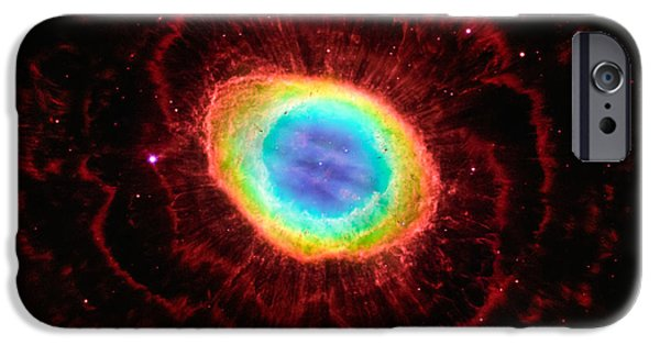 Recently Sold -  - Stellar iPhone Cases - Ring Nebulas True Shape iPhone Case by Marco Oliveira