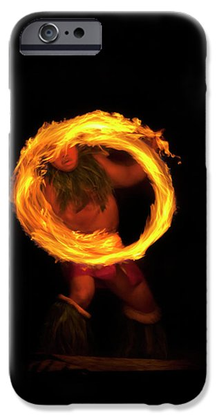 Ring of Fire iPhone Case by Mike  Dawson