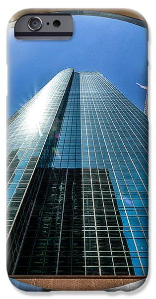 Ring of Trust - Wells Fargo Plaza iPhone Case by Dee Zunker