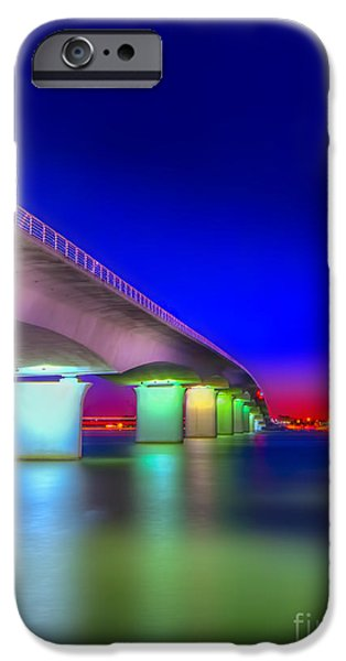 Gulf Shores iPhone Cases - Ringling Bridge iPhone Case by Marvin Spates