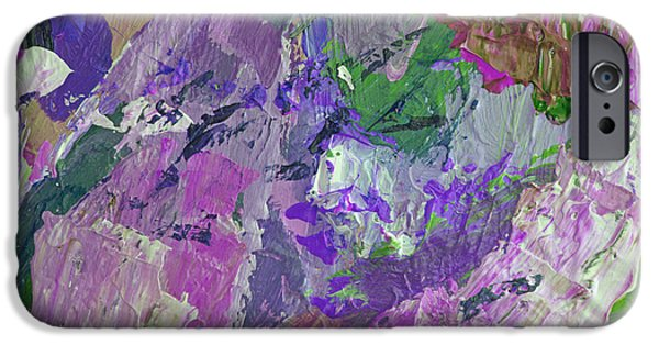 Abstract Expressionism iPhone Cases - Rio Days iPhone Case by David Lloyd Glover