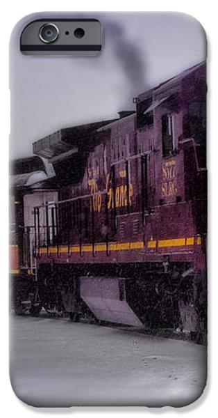 Rio Grande Scenic Railroad iPhone Case by Ellen Heaverlo