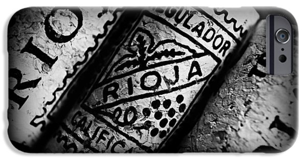 Wine Bottles iPhone Cases - Rioja iPhone Case by Clare Bevan
