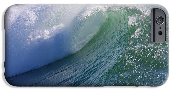 Steamer Lane iPhone Cases - Rip Curl iPhone Case by Ru Tover