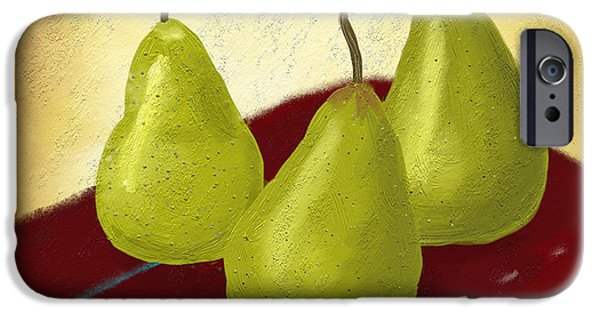 Ipad Art iPhone Cases - Ripe and Ready painting iPhone Case by Linda Lees
