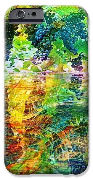 Plentyfull iPhone Cases - Ripened Vines iPhone Case by PainterArtist FIN