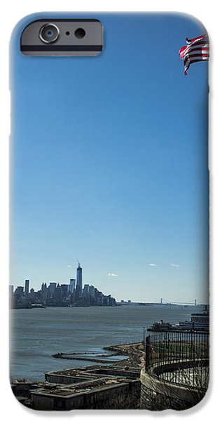 Twin Towers Nyc iPhone Cases - Ripped and standing iPhone Case by Tony Maduro