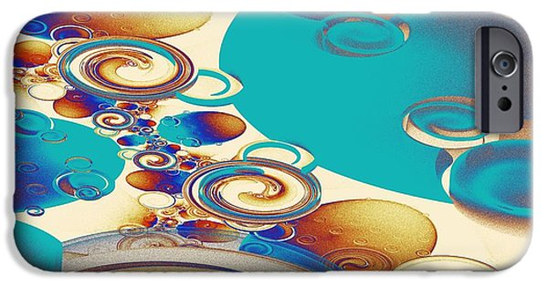 Small iPhone Cases - Ripples iPhone Case by Anastasiya Malakhova
