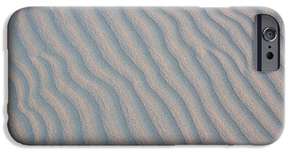 Wave Pattern iPhone Cases - Ripples In The Sand iPhone Case by Heidi Smith