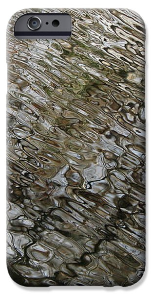 Ripples in the Swamp iPhone Case by Carol Groenen