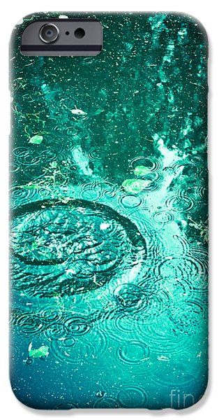 Rippled iPhone Cases - Ripples iPhone Case by Jan Bickerton