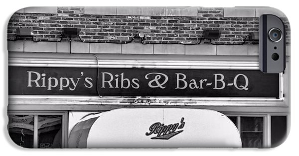 Tennessee Landmark iPhone Cases - Rippys Ribs And Bar BQ iPhone Case by Dan Sproul