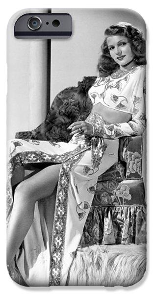 Rita iPhone Cases - Rita Hayworth in Gilda iPhone Case by Nomad Art And  Design