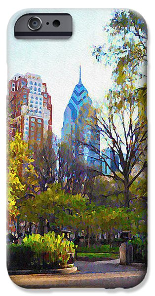 Rittenhouse Square in the Spring iPhone Case by Bill Cannon