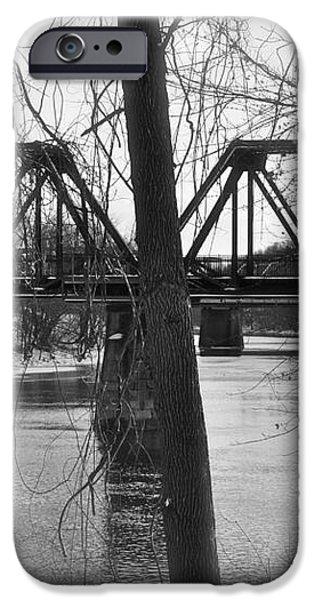 River Bridge iPhone Case by Jonathan Brown