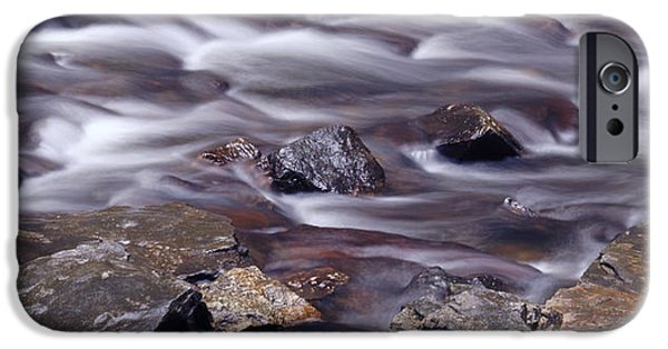 River iPhone Cases - River Flows 2 iPhone Case by Mike McGlothlen