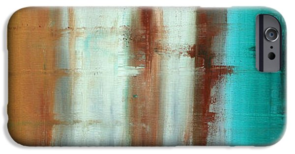 Rust iPhone Cases - River of Desire 1 by MADART iPhone Case by Megan Duncanson