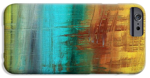 Rust iPhone Cases - River of Desire 21 by MADART iPhone Case by Megan Duncanson